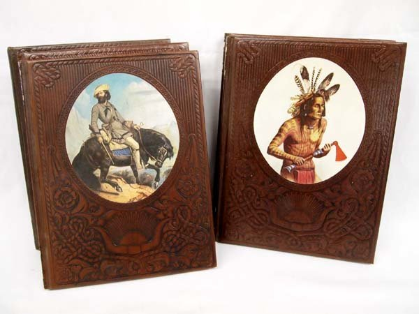 5 Time-Life Bound Books - Trail Blazers, Indians