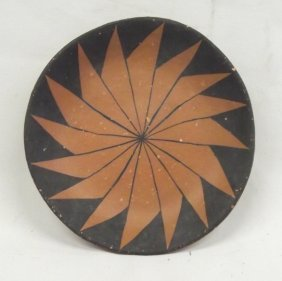 1990 Santo Domingo Micaceous Clay Plate