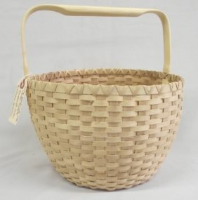 Penobscot Basket by Barbara Francis