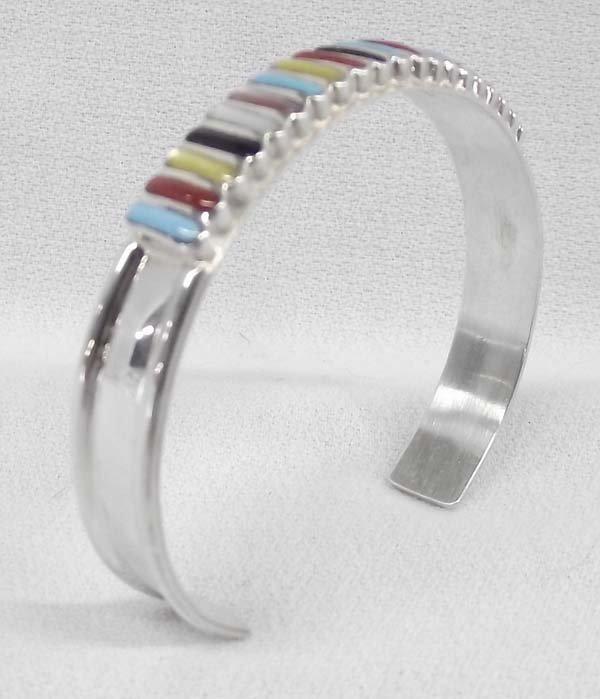 Zuni Sterling Stone to Stone Bracelet