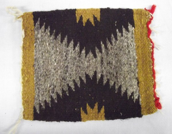 Navajo Miniature Sampler Wool Rug