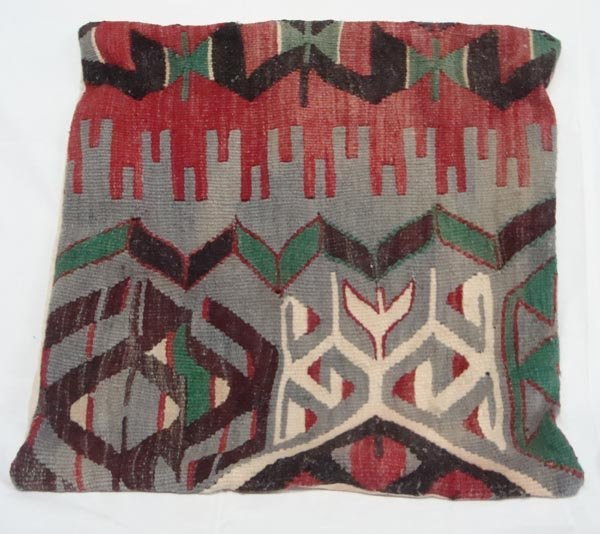 Tribal Wooven Wool Pillow Cover