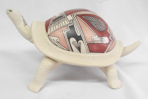 Mata Ortiz Polychrome Turtle- Dulces Melero
