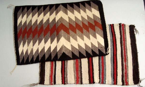 Navajo 1950's Pair of Rugs