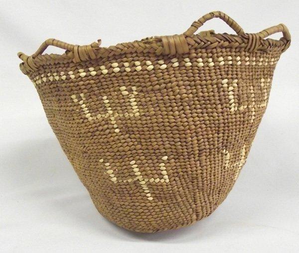 Oregon Coastal American Woven Basket