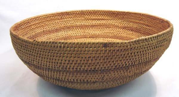 Washoe Single Rod Large Basket