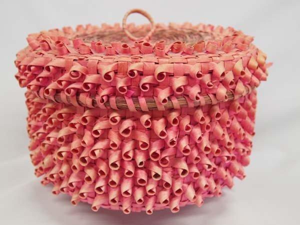 Penobscot Lidded Basket