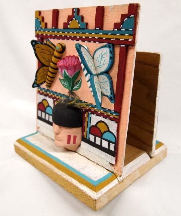 Hopi Folk Art Butterfly Napkin Holder