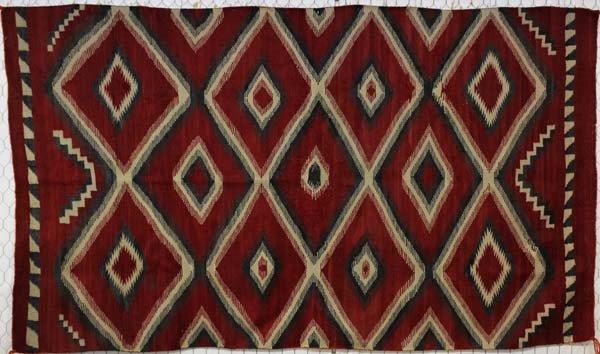 1920 Navajo Red Ganado Eyedazzler Rug