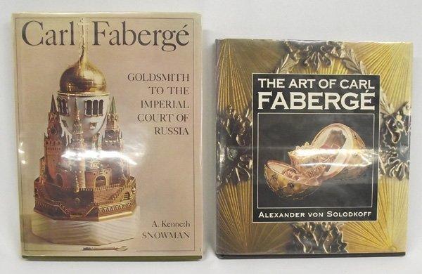Two Hardback Books, Carl Faberge' Interest