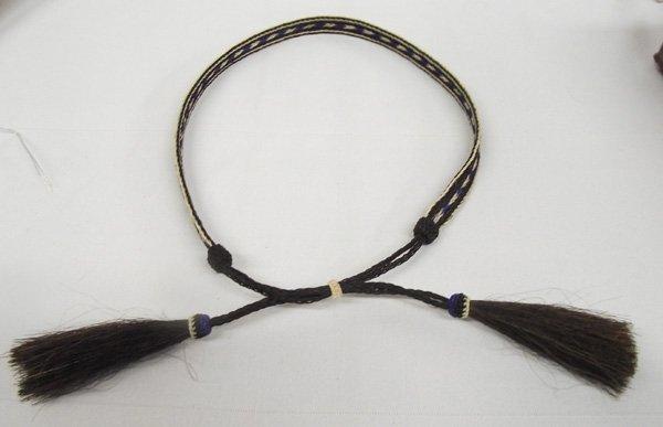 Navajo Horsehair Hat Band
