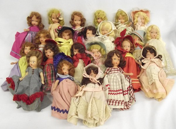 Vintage Collection of Nancy Ann Storybook Dolls