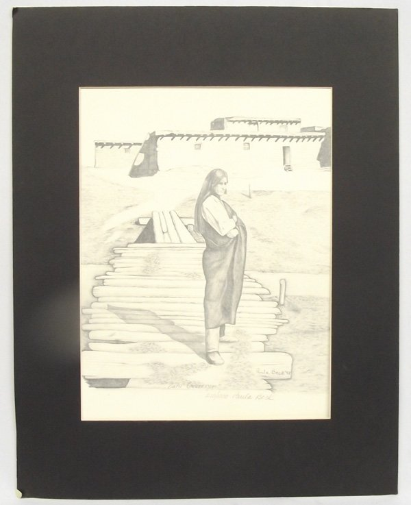 Signed/Numbered Print ''Zuni Governor'' - Paula Beck