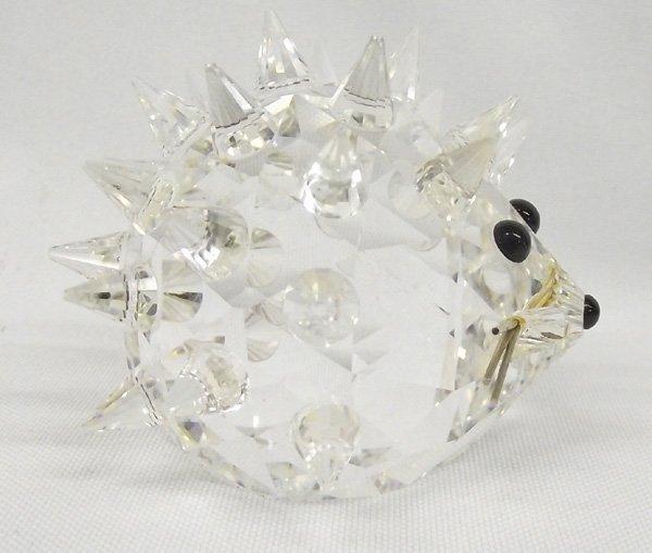 Swarovski Sparkling Crystal Glass Hedgehog