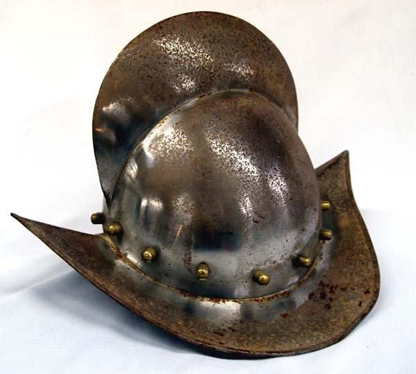 how to make a conquistador helmet