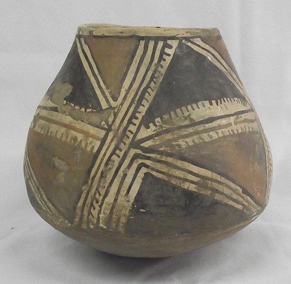 1950-60 Casas Grande Polychrome Geometric Pottery Jar