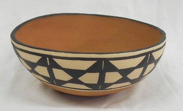 Santo Domingo Dough Bowl by Anna M. T. Lovato