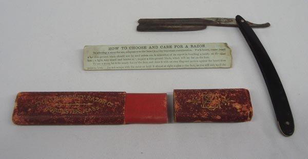 Antique Shaving Razor - J. R. Torrey Razor Comp.