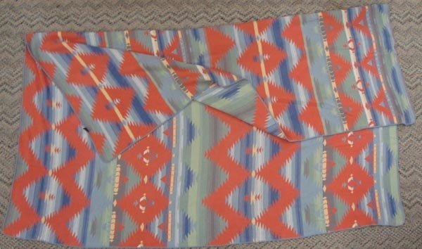 Southwest Style Cotton Blanket by Ralph Lauren