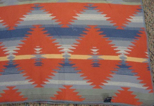 Southwest Style Cotton Blanket by Ralph Lauren - 2