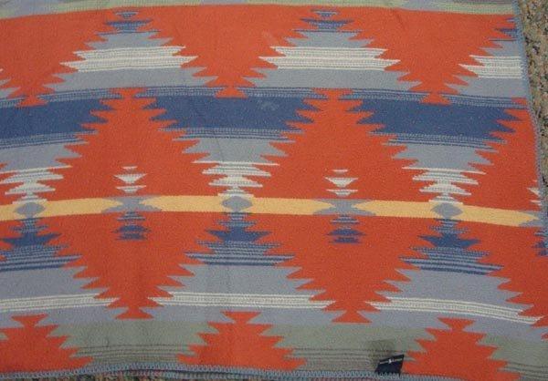 Southwest Style Cotton Blanket by Ralph Lauren - 3