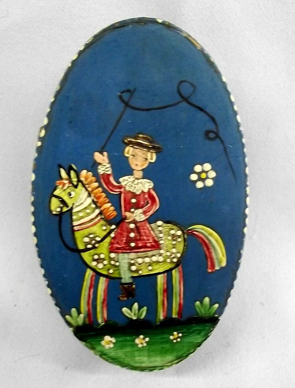 Western Germany Hand Painted Trinket Box