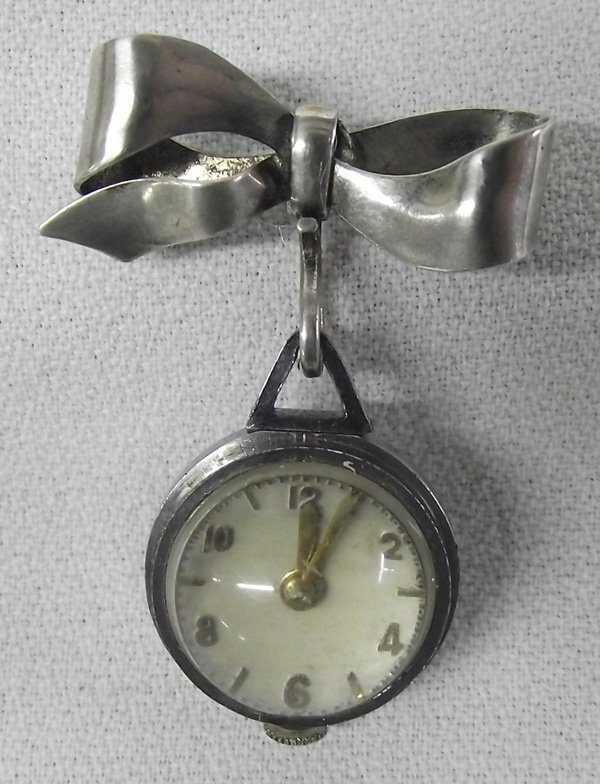 Antique 1900s Booch Pin Watch- Normis Watch Co.