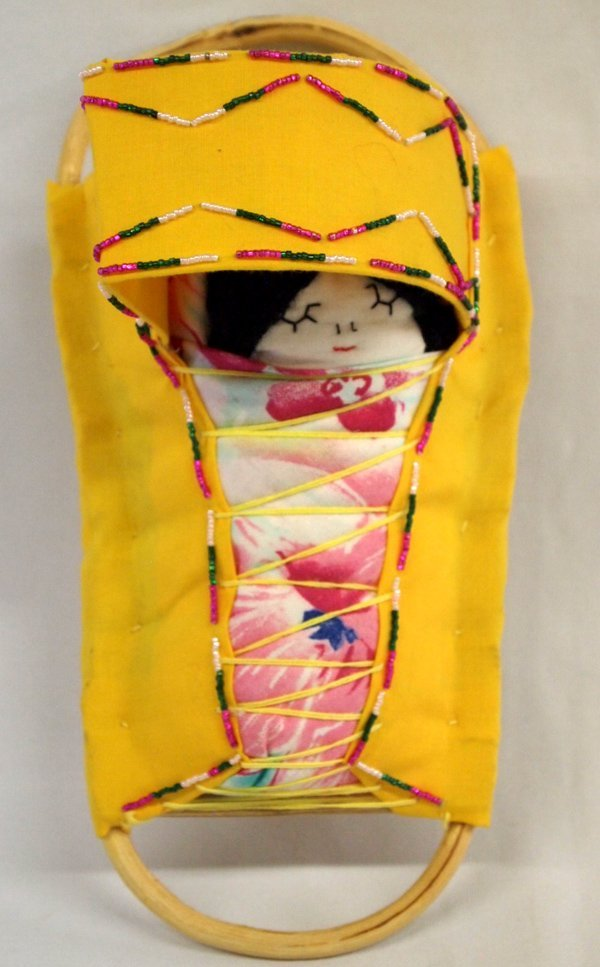 Miniature Apache Doll Cradleboard