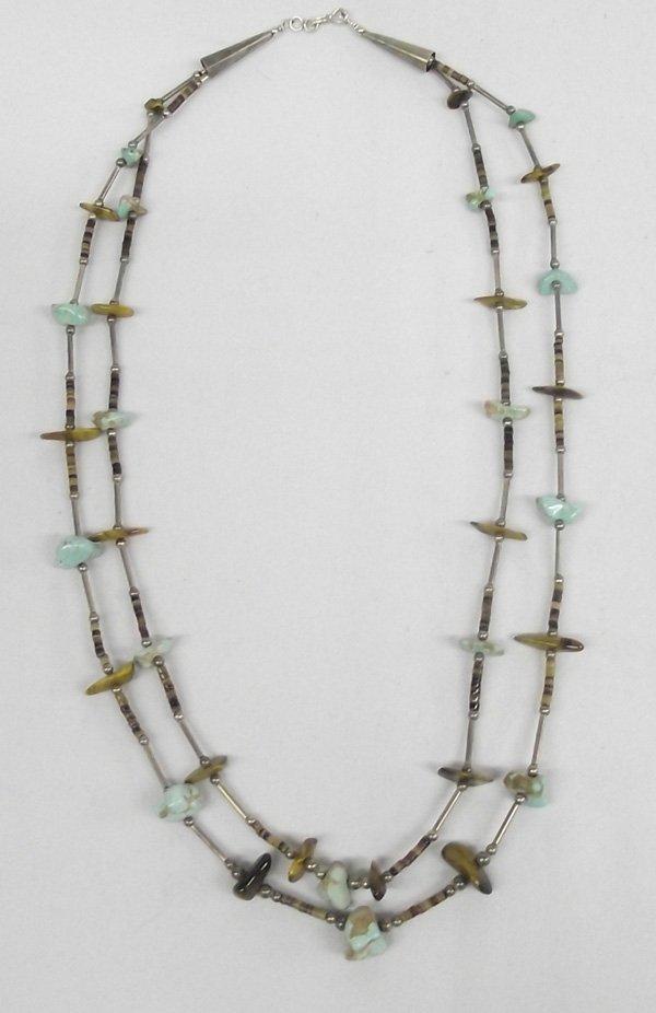Vintage Santo Domingo Sterling Nugget Necklace
