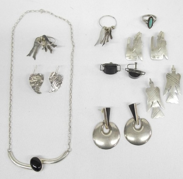 Collection of Navajo & Taxco Jewelry