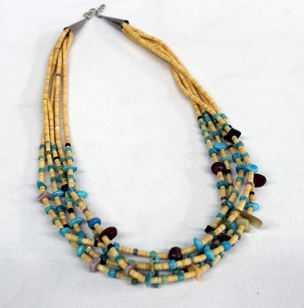 1970s Santo Domingo Necklace and Earrings