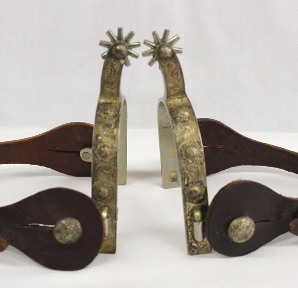 Pair of 1940's CA Flemming Spurs