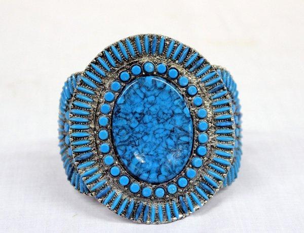 Southwestern Style Cluster Bracelet