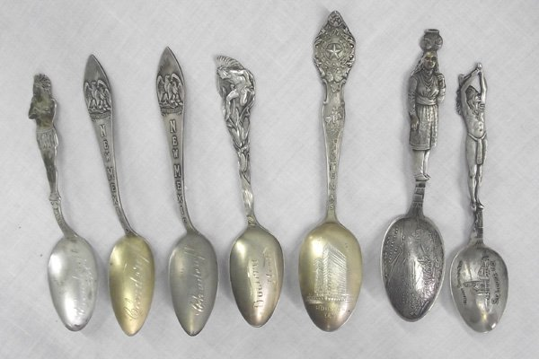 Sterling Silver Collector's Spoons