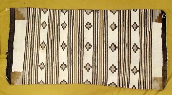 Vintage Navajo Natural Vegetal Dye Rug