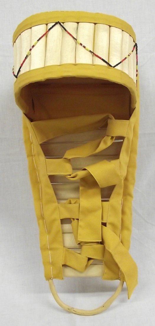 Apache Handmade Handpainted  Cradleboard