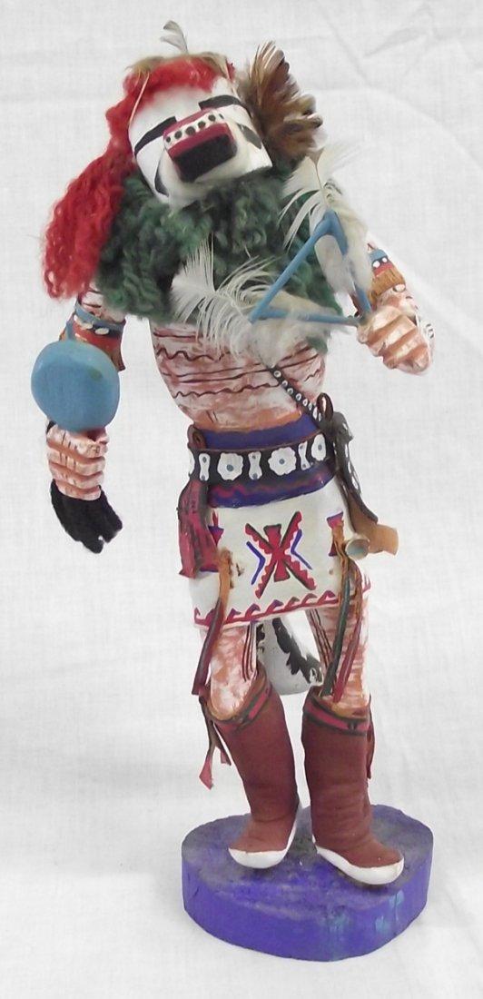 Hopi Handpainted & Handcarved Wooden  Harvest Kachina