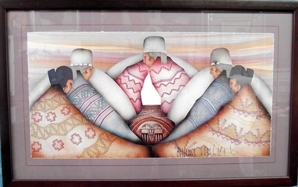 Framed & Matted by Amado Maurilio Pena. - 3