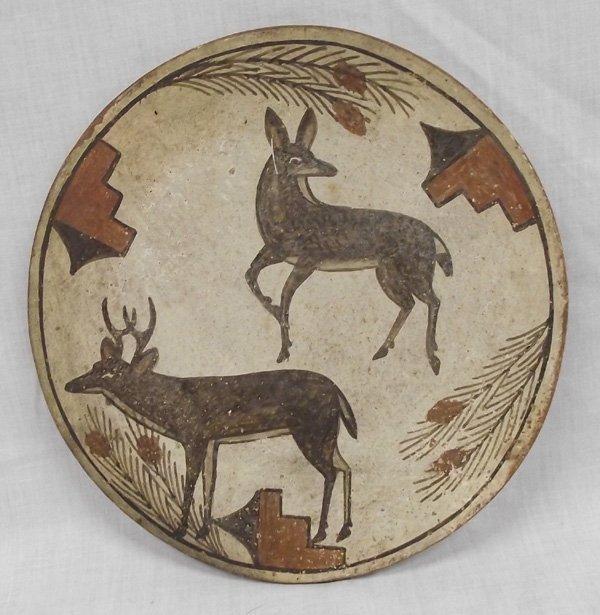 Zia Polychrome Deer Pottery