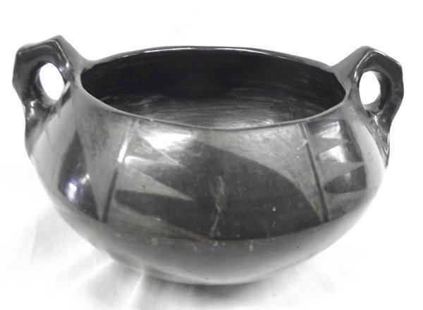 Maria Martinez San Ildefonso Unsigned Pottery Bowl - 5
