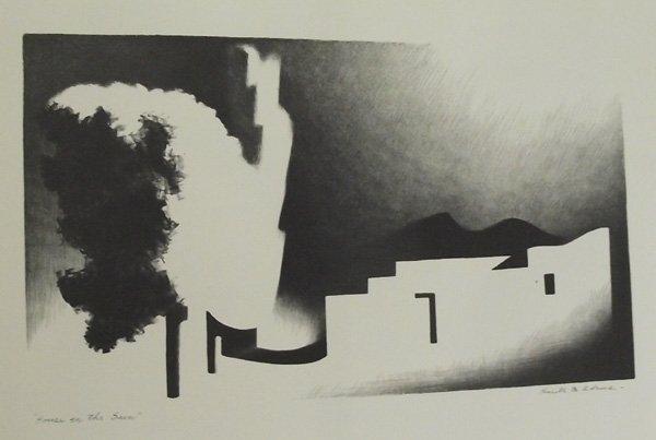 Kenneth M. Adams Portfolio of Lithographs.