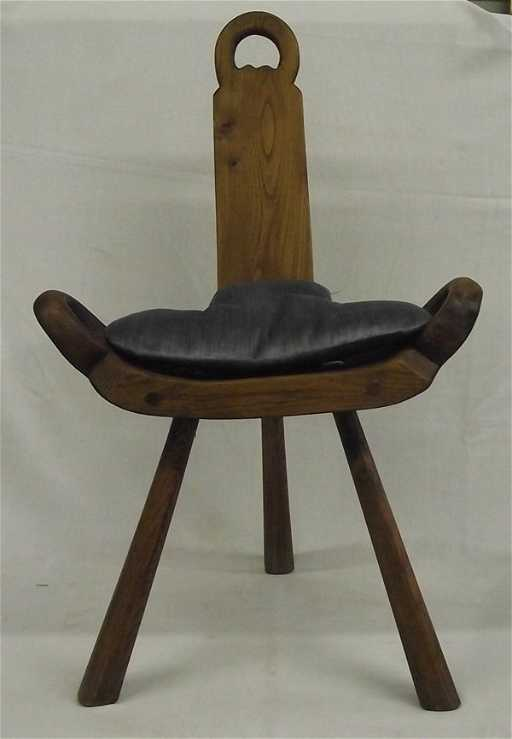 - Irish Wood Birthing Chair