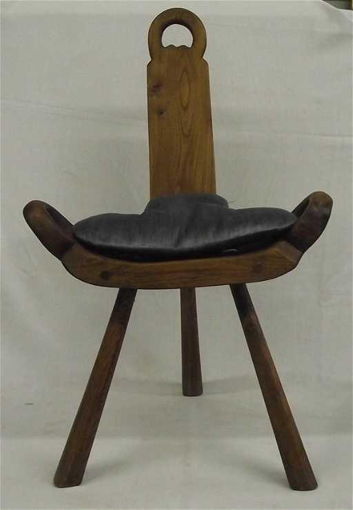 Irish Wood Birthing Chair