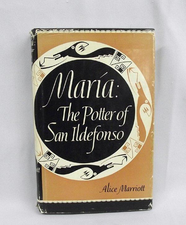 Hardback Book ''Maria: The Potter of San Ildefonso''