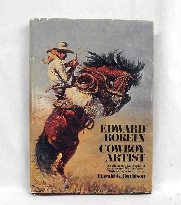 Hardback ''Edward Borein Cowboy Artist'' by Davidson