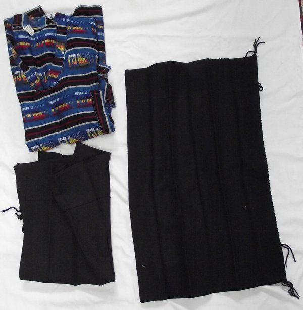 Original Navajo Child's Dresses and Mexican Blouse