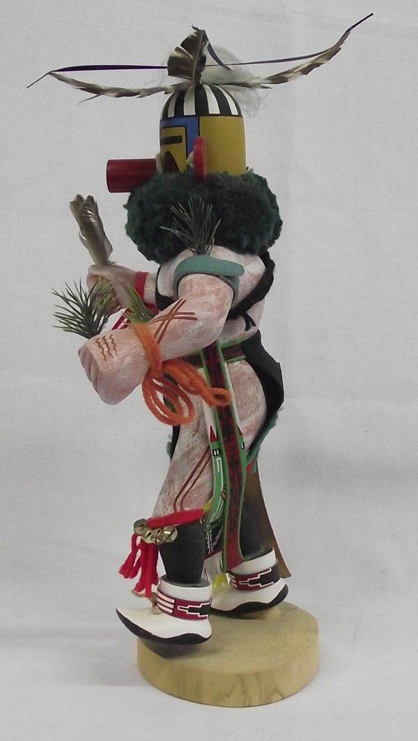 Zuni Tewa Ka'e ''Corn Dancer'' Kachina by W. Paquin - 2