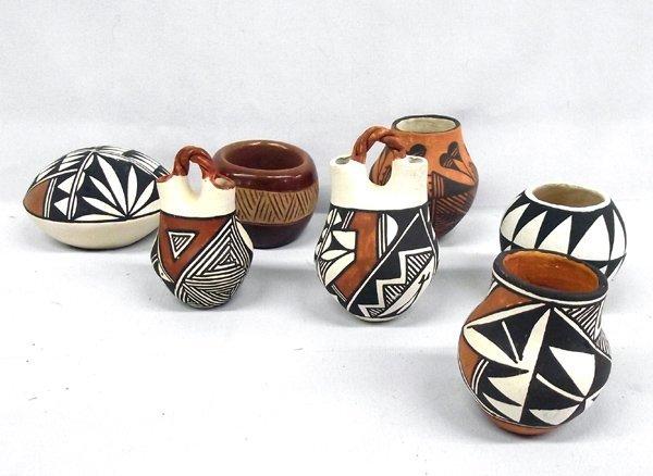 Collection of Acoma & San Juan Pottery