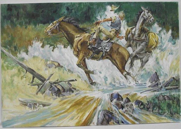 Original Oil on Canvas- Richard Ward