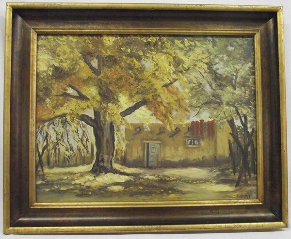 Framed Original Oil by Eu Peter